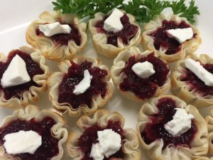 Roast Beetroot _ Feta Fill Cups